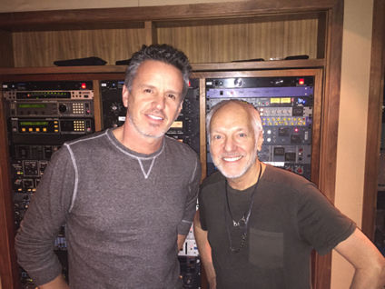 Steve with Peter Frampton